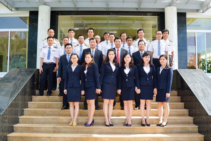 Tập thể CBCNV Công ty Hoa tiêu hàng hải khu vực VII