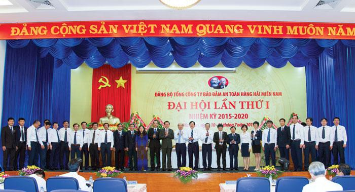Ban chấp hành Đảng bộ Tổng công y Bảo đảm an toàn hàng hải miền Nam nhiệm kỳ 2015-2020