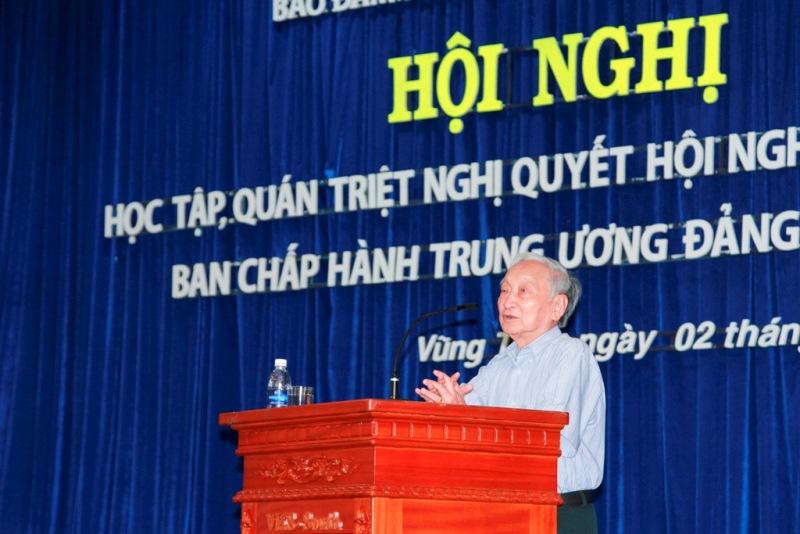 Hội nghị học tập, quán triệt Nghị quyết Trung ương 9 (khóa XI) năm 2014
