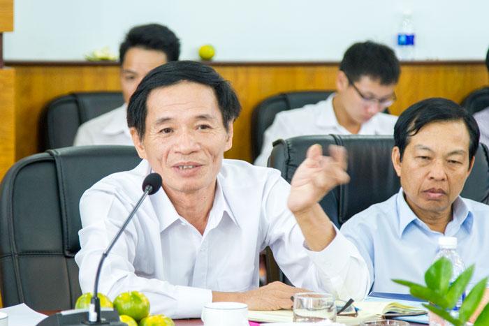 Ông Phạm Văn Quang, Chủ tịch HĐTV VMS-South phát biểu tại Hội nghị