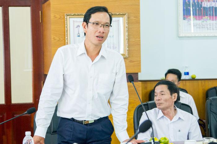 Ông Phạm Quốc Súy, TGĐ VMS-South phát biểu tại Hội nghị