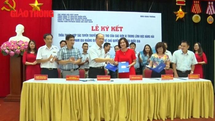 Ngành Hàng hải Việt Nam đẩy mạnh tuyên truyền bảo vệ chủ quyền biển đảo Việt Nam
