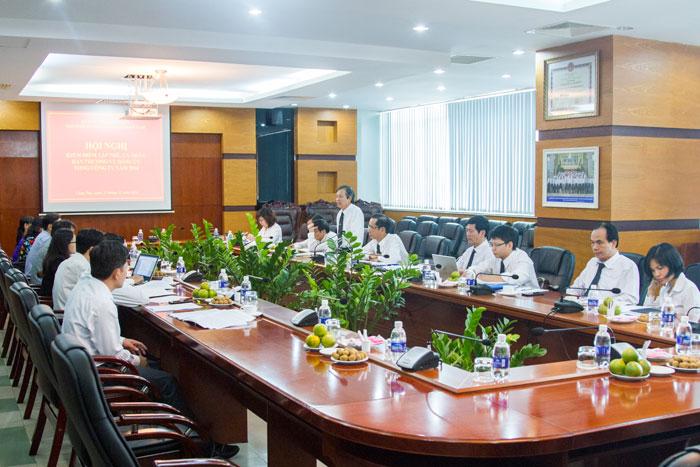 Ban Thường vụ Đảng ủy Tổng công ty kiểm điểm tập thể và cá nhân năm 2016