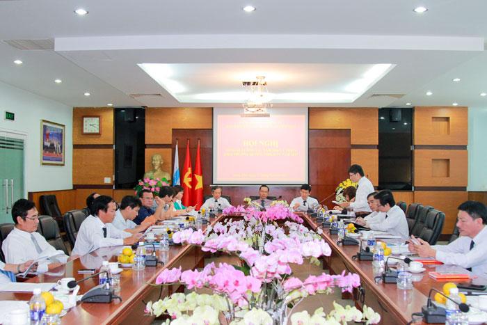 Hội nghị lần thứ 8 Ban chấp hành Đảng bộ Tổng công ty BĐATHH miền Nam