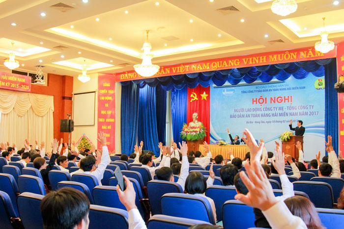 Hội nghị người lao động Công ty mẹ – VMS-South năm 2017