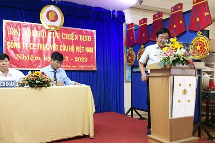 Đ/c Nguyễn Văn Bê – Bí thư Đảng ủy, Tổng Giám đốc Công ty phát biểu tại Đại hội