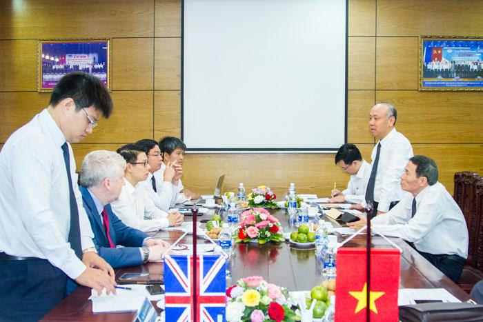 Ông Bùi Thế Hùng, Tổng giám đốc VMS-South phát biểu tại Cuộc họp