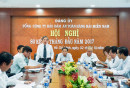 Đồng chí Phạm Đăng Lâu, Phó Bí thư Thường trực Đảng ủy Tổng công ty chủ trì Hội nghị