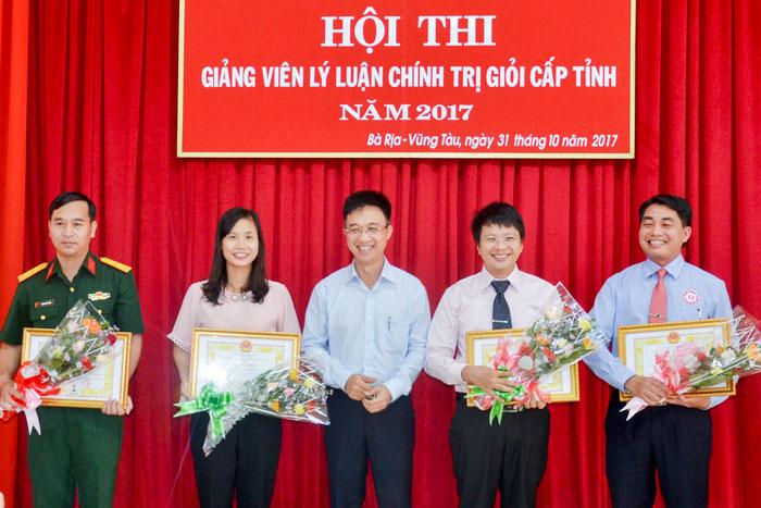 (Vietnamese) Hội thi giảng viên lý luận chính trị giỏi cấp tỉnh Bà Rịa – Vũng Tàu năm 2017