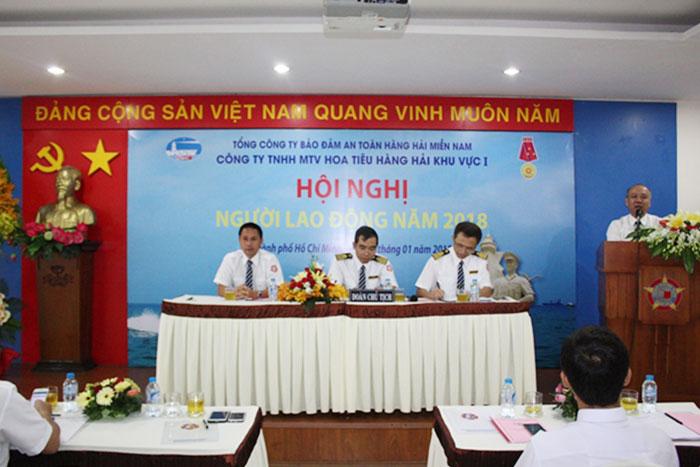 Đ/c Bùi Thế Hùng, TGĐ VMS-South phát biểu chỉ đạo tại Hội nghị