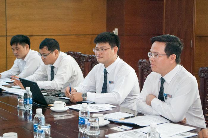 Ông Phạm Tuấn Anh, Phó TGĐ VMS-South chủ trì Cuộc họp