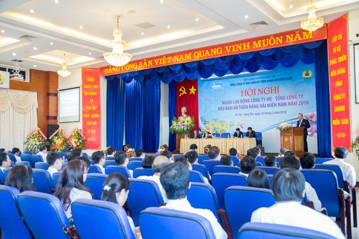 Hội nghị người lao động Công ty mẹ – Tổng công ty Bảo đảm an toàn hàng hải miền Nam năm 2018