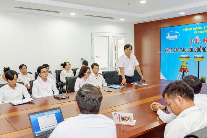 (Vietnamese) Xí nghiệp Khảo sát hàng hải miền Nam khai giảng khóa đào tạo bồi dưỡng nâng cao tay nghề công nhân khảo sát năm 2018