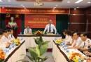 Tổng giám đốc Bùi Thế Hùng phát biểu chỉ đạo, kết luận hội nghị