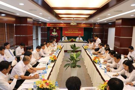 Toàn cảnh Hội nghị giao ban triển khai nhiệm vụ quý III năm 2018
