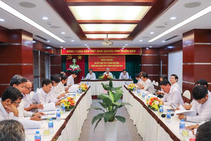 (Vietnamese) Đảng ủy Tổng công ty Bảo đảm an toàn hàng hải miền Nam: Sơ kết tình hình công tác 6 tháng đầu năm và triển khai nhiệm vụ 6 tháng cuối năm 2018