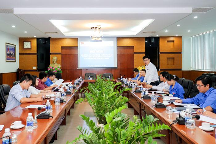 (Vietnamese) Hội nghị kiểm tra công tác đoàn và phong trào thanh niên 6 tháng đầu năm 2018