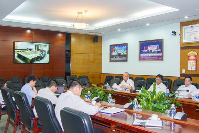 Tổng công ty Bảo đảm an toàn hàng hải miền Nam triển khai mô hình họp trực tuyến