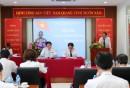Ông Vũ Tiến Việt, Chủ tịch HĐTV Tổng công ty phát biểu chỉ đạo tại Hội nghị