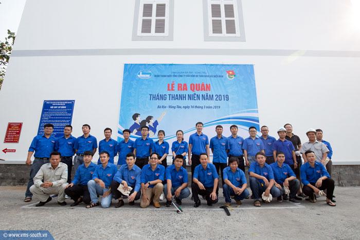 Đoàn Thanh niên VMS-South ra quân Tháng Thanh niên năm 2019