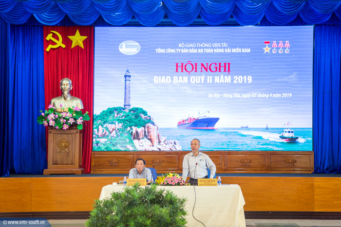 (Vietnamese) VMS-South tổ chức Hội nghị giao ban triển khai nhiệm vụ quý II năm 2019