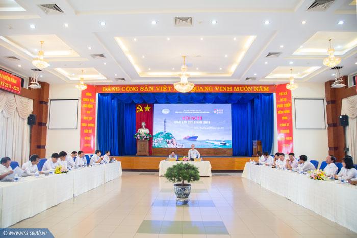 Toàn cảnh hội nghị giao ban VMS-South quý II/2019