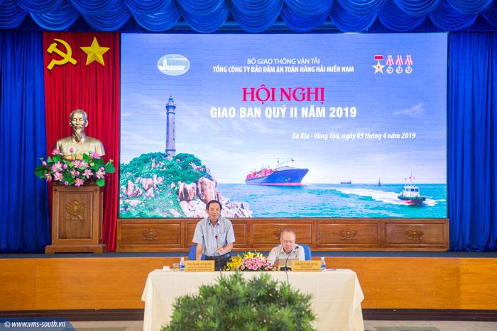 Chủ tịch HĐTV Phạm Văn Quang phát biểu tại hội nghị