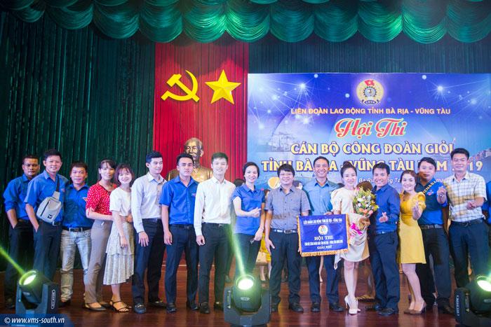 VMS-South đạt giải Nhì Hội thi Cán bộ Công đoàn giỏi tỉnh Bà Rịa – Vũng Tàu năm 2019