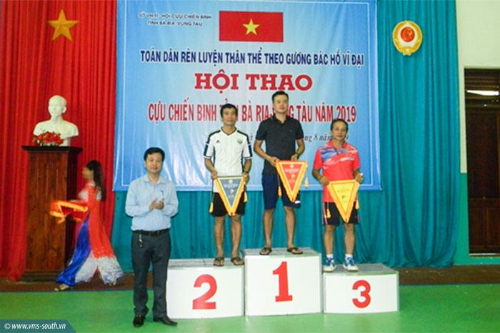 Hội CCB VMS-South tham gia Hội thao CCB tỉnh Bà Rịa – Vũng Tàu năm 2019