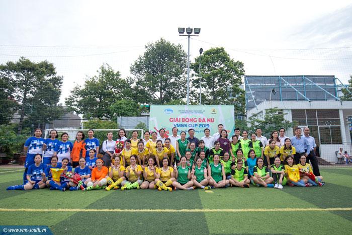Khai mạc Giải bóng đá nữ VMSS CUP 2019