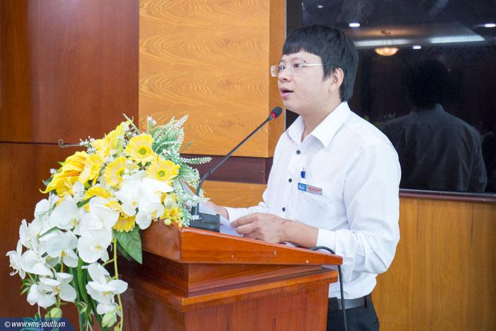 Đ/c Phạm Quang Giáp, Phó Bí thư Thường trực Đảng ủy Tổng công ty công bố các Quyết định bổ nhiệm
