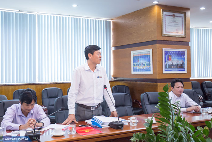 Đ/c Dương Thế Nam phát biểu nhận nhiệm vụ tại Cuộc họp
