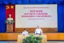 Đ/c Bùi Thế Hùng, Bí thư Đảng ủy Tổng công ty phát biểu chỉ đạo tại Hội nghị
