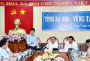 Đồng chí Nguyễn Hồng Lĩnh, Ủy viên Trung ương Đảng, Bí thư Tỉnh ủy cho rằng cần đầu tư đồng bộ hệ thống giao thông kết nối, dịch vụ logistics sau cảng để phát huy vai trò Cái Mép - Thị Vải là cụm cảng quốc tế.