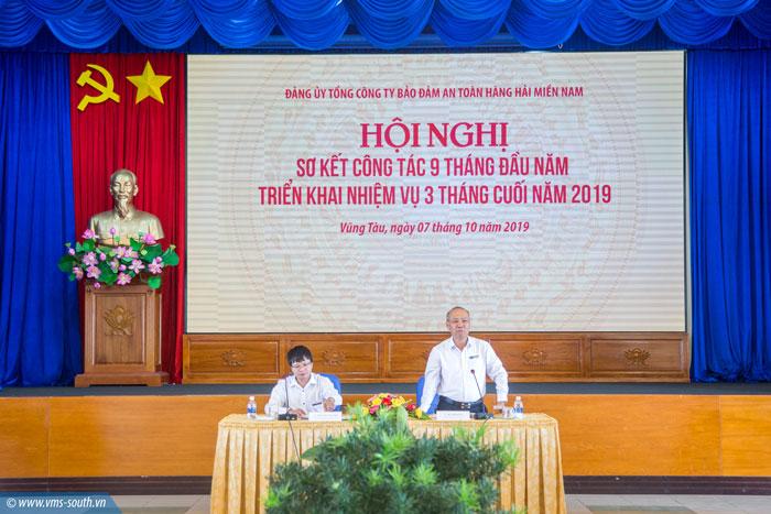 Hội nghị sơ kết 09 tháng đầu năm và triển khai nhiệm vụ 03 tháng cuối năm 2019