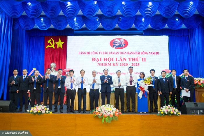 (Vietnamese) Đại hội Đảng bộ Công ty Bảo đảm an toàn hàng hải Đông Nam Bộ lần thứ II, nhiệm kỳ 2020 – 2025