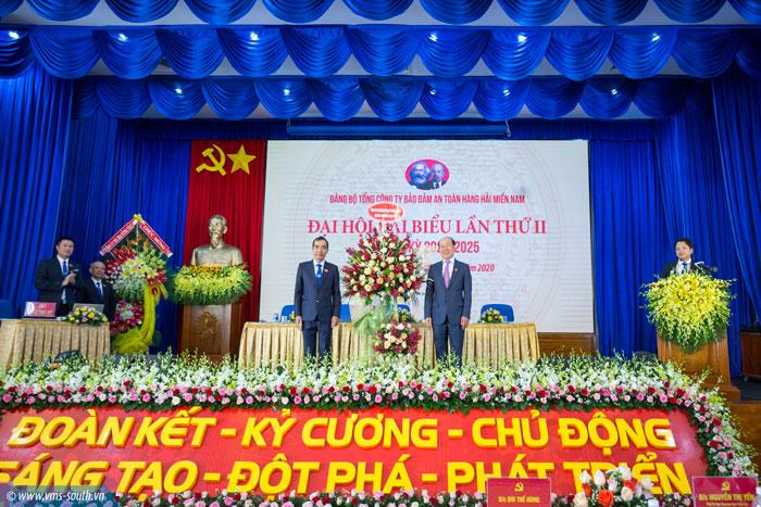 (Vietnamese) Đại hội Đảng bộ Tổng công ty Bảo đảm an toàn hàng hải miền Nam lần II, nhiệm kỳ 2020 – 2025: Đoàn kết – Kỷ cương – Chủ động – Sáng tạo – Đột phá – Phát triển