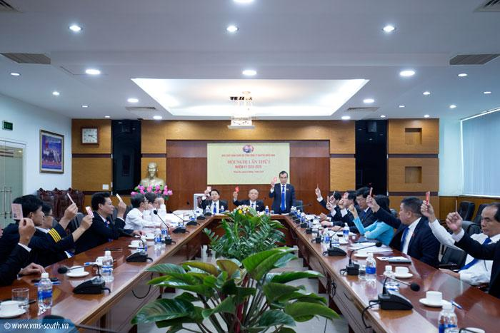 Hội nghị lần thứ nhất Ban chấp hành Đảng bộ VMS-South nhiệm kỳ 2020 - 2025.