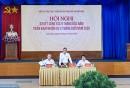 Đ/c Quách Đình Hùng, Bí thư Đảng ủy phát biểu chỉ đạo tại Hội nghị