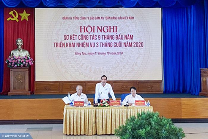 (Vietnamese) Đảng ủy VMS-South tổ chức Hội nghị sơ kết 09 tháng đầu năm và triển khai nhiệm vụ 03 tháng cuối năm 2020