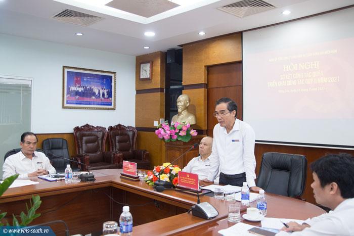 Đảng ủy Tổng công ty Bảo đảm an toàn hàng hải miền Nam tổ chức Hội nghị trực tuyến sơ kết thực hiện nhiệm vụ quý I, triển khai phương hướng, nhiệm vụ quý II năm 2021
